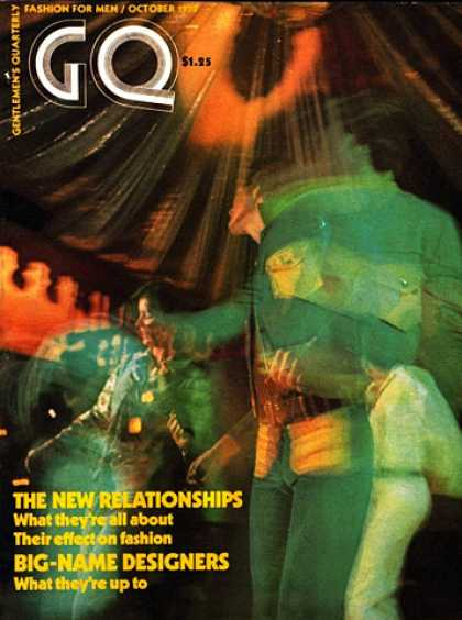 GQ - October 1970 - Big-Name Designers