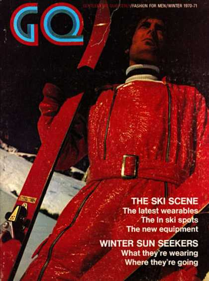 GQ - Winter 1970-71 - The Ski Scene