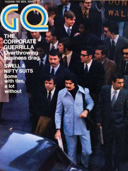 GQ - March 1971 - Corporate Guerrilla