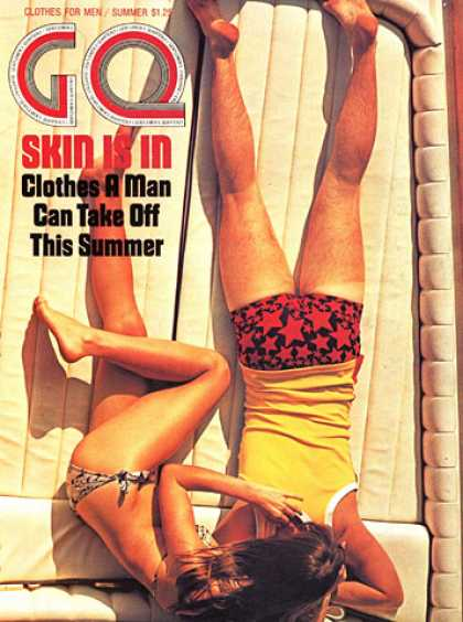 GQ - Summer 1971 - Summer clothes