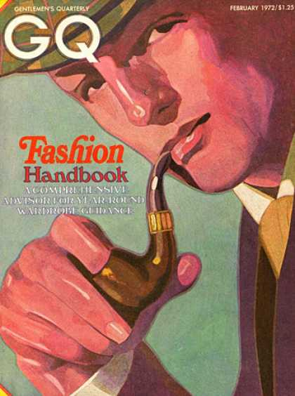 GQ - February 1972 - Fashion Handbook