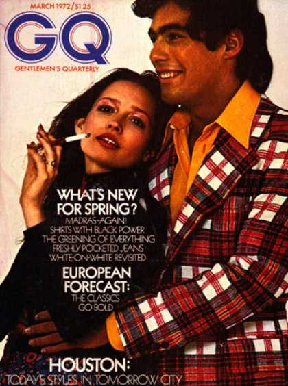 GQ - March 1972 - What's New For Spring?