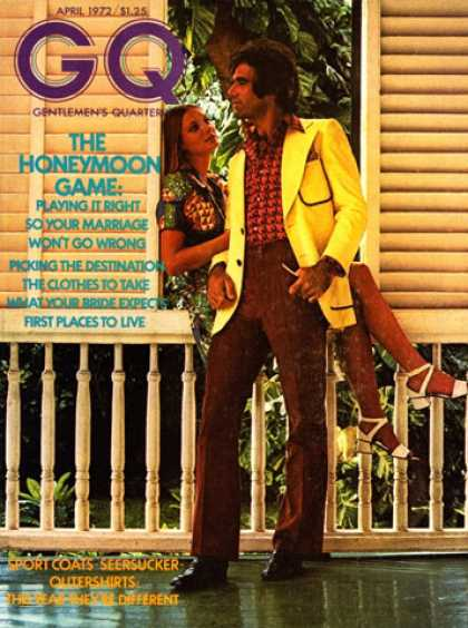 GQ - April 1972 - The Honeymoon Game