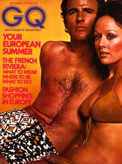 GQ - Summer 1972 - Your European Summer
