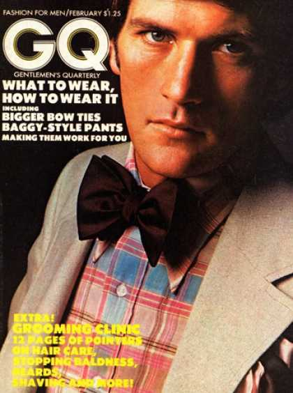 GQ - February 1973 - What to Wear, How to Wear It
