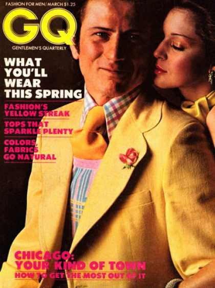 GQ - March 1973 - What You'll Wear This Spring