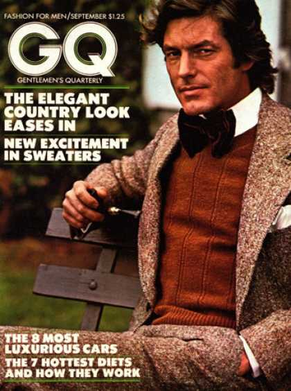 GQ - September 1973 - Country Look