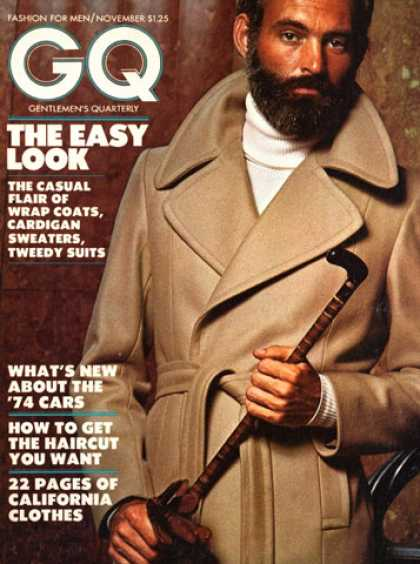 GQ - November 1973 - The Easy Look