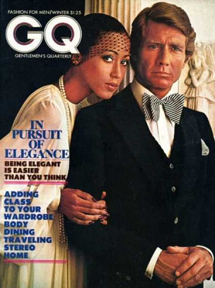 GQ - Winter 1973 - In Pursuit of Elegance
