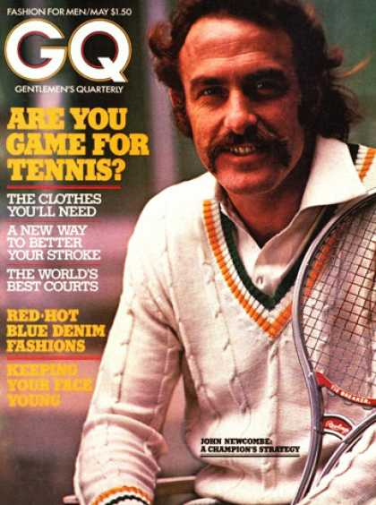 GQ - May 1974 - John Newcombe