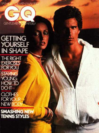 GQ - May 1975 - Getting yourself in shape