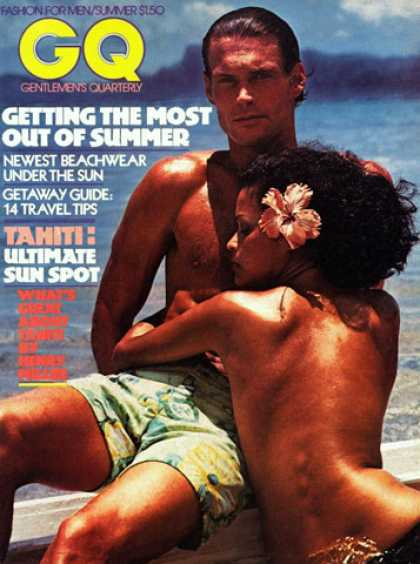 GQ - Summer 1975 - Tahiti