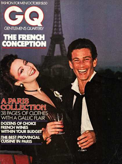 GQ - October 1975 - Paris