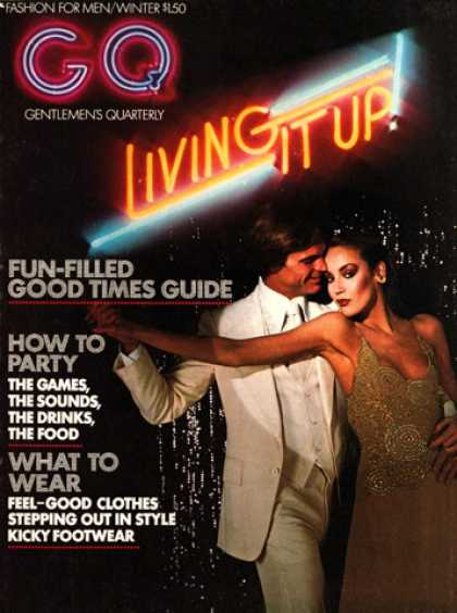 GQ - Winter 1975 - Living it up