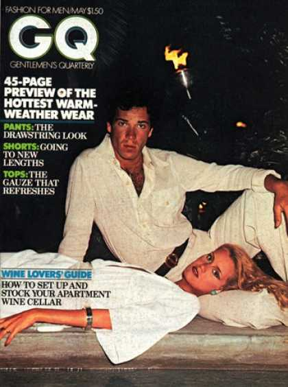 GQ - May 1976 - Warm-Weather Wear