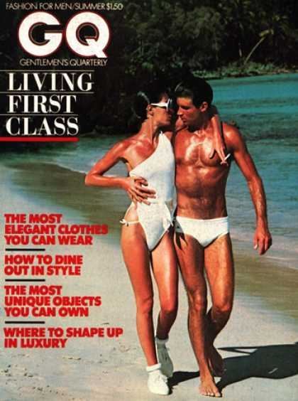 GQ - Summer 1976 - Living First Class