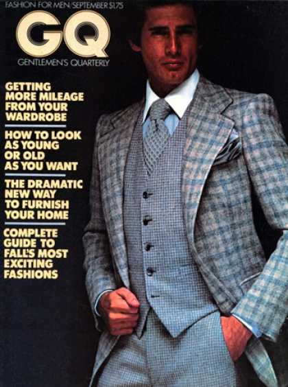 GQ - September 1976 - Getting more mileage from your wardrobe