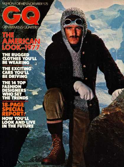 GQ - November 1976 - The American Look 1977