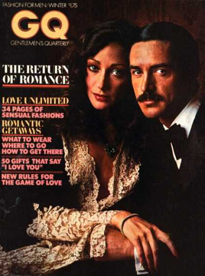 GQ - Winter 1976 - Return of Romance