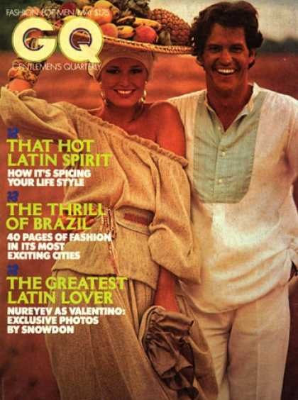 GQ - May 1977 - That Hot Latin Spirit