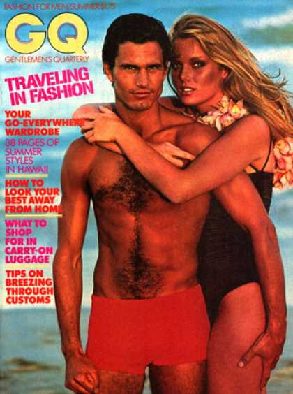 GQ - Summer 1977 - Traveling in fashion