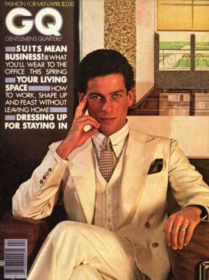 GQ - April 1978 - Suits Mean Business