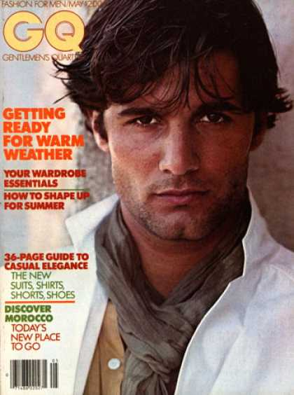 GQ - May 1978 - Getting ready for warm weather