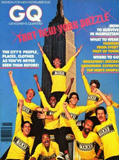 GQ - November 1978 - That New York Dazzle