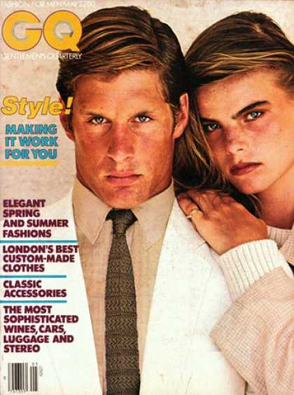 GQ - May 1979 - Style!