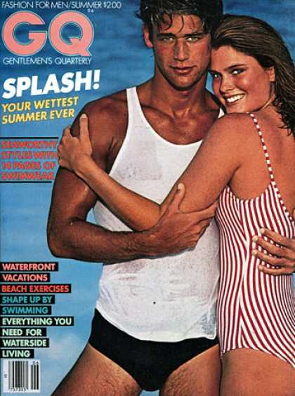 GQ - Summer 1980 - Splash