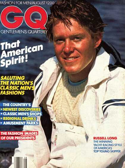 GQ - August 1980 - Russell Long