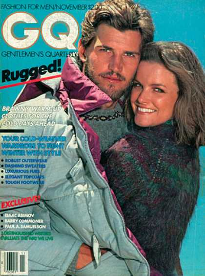 GQ - November 1980 - Rugged