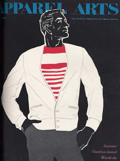 GQ - February 1957 - Summer Wardrobe