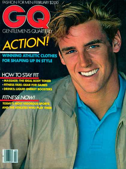 GQ - February 1981 - Action