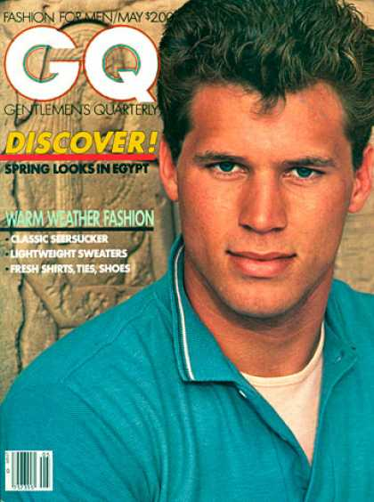 GQ - May 1981 - Discover!