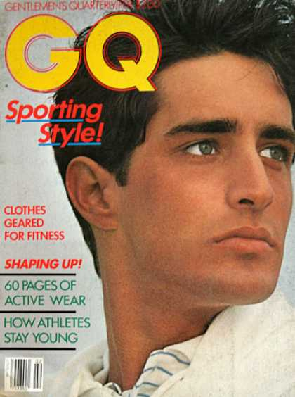 GQ - February 1982 - Sporting Style
