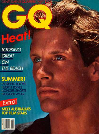 GQ - May 1982 - Heat: Looking Great on the Beach