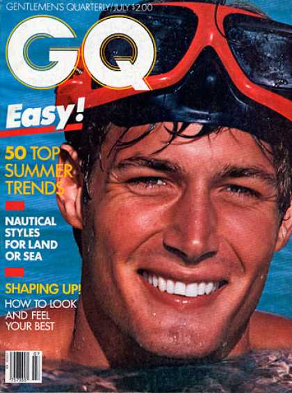 GQ - July 1982 - 50 Top Summer Trends