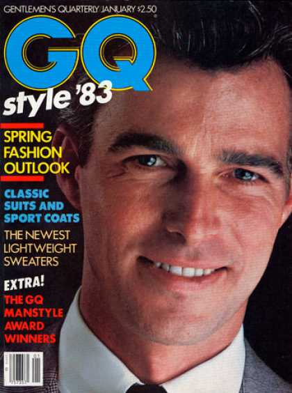 GQ - January 1983 - Style '83