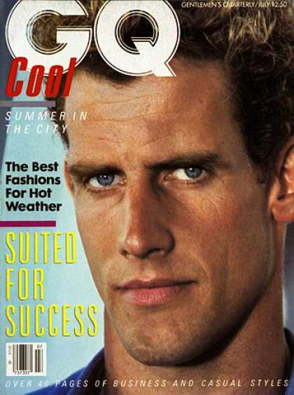 GQ - July 1983 - Suited For Success