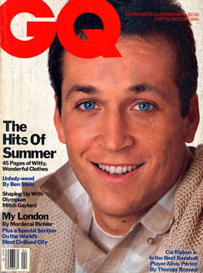 GQ - April 1984 - The Hits of the Summer