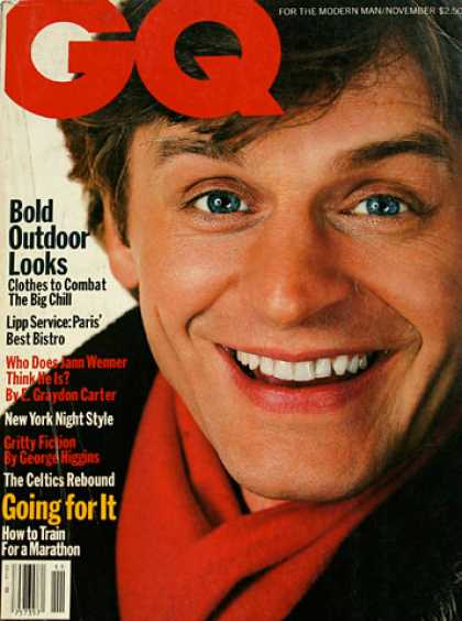 GQ - November 1985 - Bold outdoor looks
