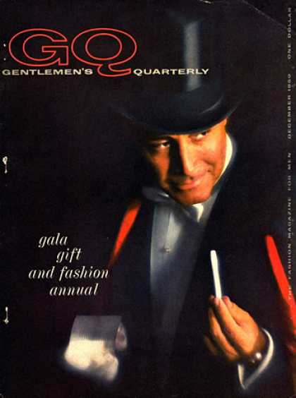 GQ - December 1959 - Wizard