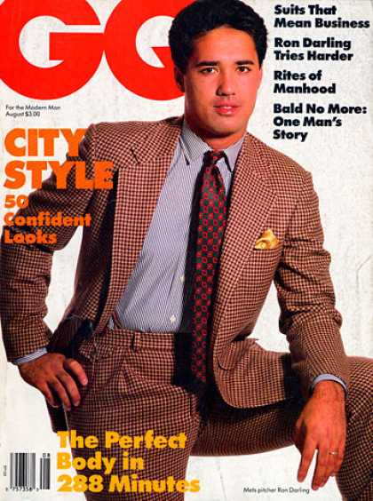 GQ - August 1986 - City Style