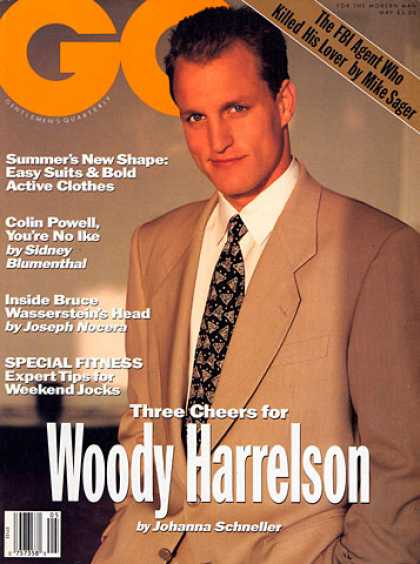 GQ - May 1991 - Woody Harrelson