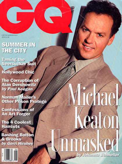 GQ - June 1992 - Michael Keaton