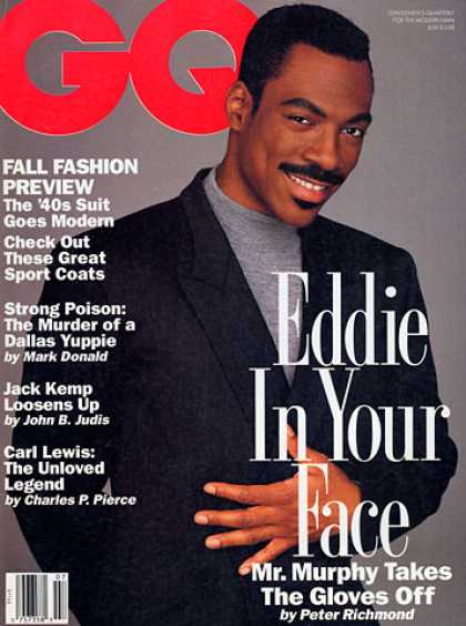 GQ - July 1992 - Eddie Murphy