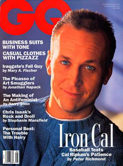 GQ - May 1993 - Cal Ripken