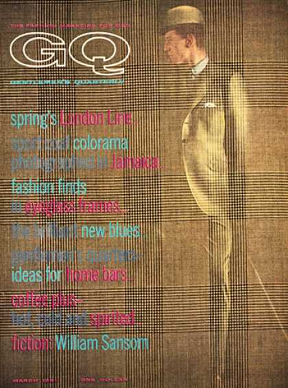 GQ - March 1961 - London Line