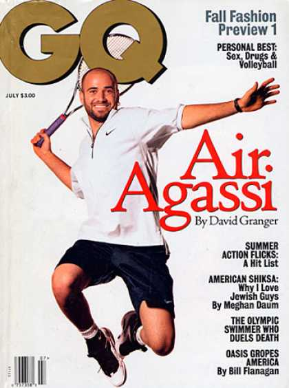 GQ - July 1996 - Andre Agassi